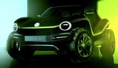 Un concept de buggy électrique chez Volkswagen à Genève