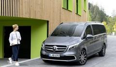 Mercedes Classe V restylée : il sera à Genève en version électrique