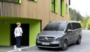 Mercedes Classe V : un face-lift… et une version électrique au programme !