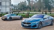 Comparatif Aston Martin Vantage et BMW M850i : le cœur a ses raisons…