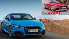 Audi TT RS 2019 : Le retour du cinq-cylindres