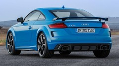 Audi TT RS facelift: service minimum