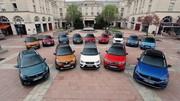Marché : le diesel toujours plus bas, les électriques et SUV au plus haut