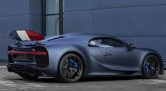 """Bugatti Chiron Sport """"110 ans Bugatti"""" : Série limitée en bleu-blanc-rouge"""