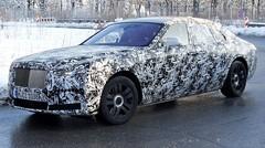 Future Rolls-Royce Ghost : Premières photos très camouflées
