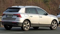 Le Kamiq, le SUV compact de Skoda, surpris en plein test !