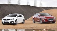 Comparatif Ford Focus vs Peugeot 308 : raison et sentiments