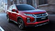 Mitsubishi ASX : découvrez les photos du SUV restylé