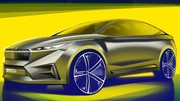 Skoda annonce le Vision iV : Un concept de SUV électrique