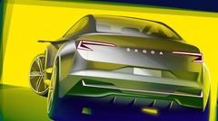 """Skoda Vision iV : Un SUV-coupé électrique """"surprise"""" à Genève"""