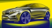 Skoda Vision IV : un crossover-coupé électrique