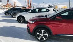 Reportage : 8 SUV testés sur neige et sur glace