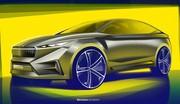 Škoda Vision iV : un premier modèle électrique MEB ?