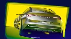 Skoda Vision iV : le coupé (sur)élevé à l'ère électrique !