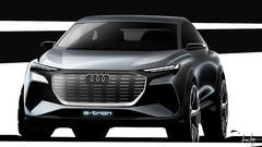 Audi Q4 e-Tron : avant la version de production de 2020