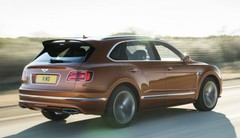 Bentley Bentayga Speed : plus rapide que l'Urus !
