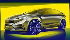 Le concept VISION iV, un SUV coupé électrique dévoilé à Genève par Skoda