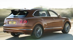 Bentley Bentayga Speed : plus rapide que l'Urus