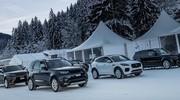 Stage de conduite d'hiver avec Jaguar Land Rover, édition 2019