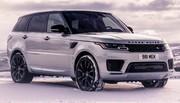 Range Rover Sport HST: en ligne