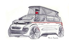 SpaceTourer The Citroënist Concept : le camping-car connecté