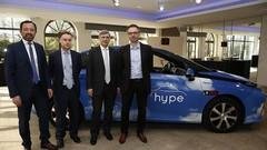 500 taxis Toyota à hydrogène de plus à Paris