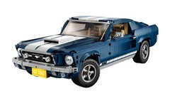 Lego revisite la Ford Mustang Fastback 1967