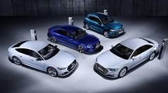 Audi Q5, A6, A7 et A8 TFSI e : Tir groupé d'hybrides rechargeables