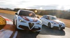 Alfa Romeo marque son retour en F1 avec les Giulia et Stelvio Racing