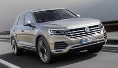 Volkswagen : un V8 TDI pour le Touareg