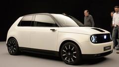 Honda e Prototype électrique, premiers clichés