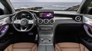 Mercedes GLC restylé : nouveau visage, nouveaux moteurs