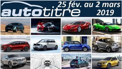 Résumé Auto Titre du 25 février au 2 mars 2019
