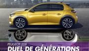 """Peugeot 208 """"1"""" vs 208 """"2"""" : qu'est ce qui change ?"""