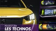 Peugeot 208 (2019) : les technologies embarquées de la nouvelle 208