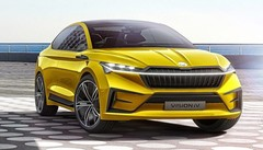 Skoda Vision iV : un concept de SUV coupé électrique pour Genève