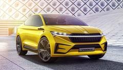 Skoda Vision iV : le SUV électrique qui en jette !