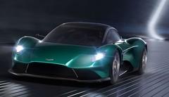 Aston Martin Vanquish Vision Concept : V6 et moteur central