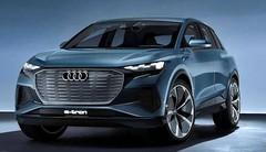 Audi Q4 e-tron : concept à Genève, réalité en 2021