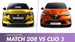Peugeot 208 vs Renault Clio 5 : le match de l'année