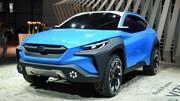 Subaru présente un concept Viziv Adrenaline et des XV et Forester hybrides