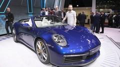 A bord de la nouvelle Porsche 911 Cabriolet