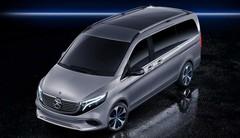 Mercedes dévoile l'EQV concept