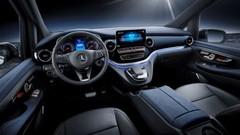 Mercedes électrifie son grand monospace à 8 places