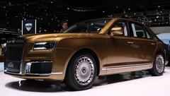 Aurus Senat : la limousine blindée de Poutine à Genève