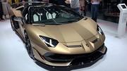 Lamborghini Aventador SVJ Roadster : Les informations en direct de Genève