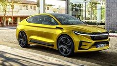 Skoda Vision iV : futur SUV coupé électrique !