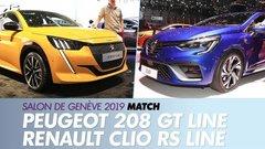 Peugeot 208 GT Line vs Renault Clio RS Line : le match