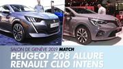 Peugeot 208 Allure vs Renault Clio Intens : Le match du coeur de gamme