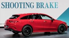 Mercedes : le coupé-berline CLA se transforme en break de chasse